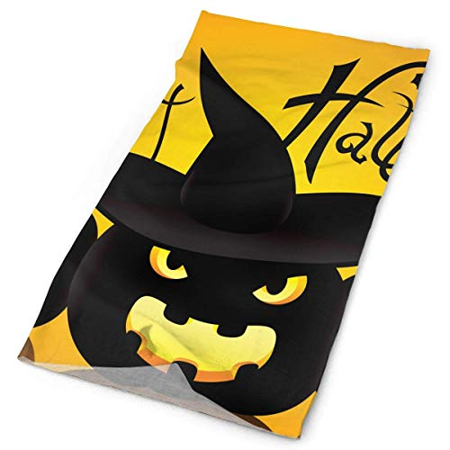 Cat Artwork Notation Tune Children Halloween Headband Bandana£¬Outdoor Multifunctional Headwear,Magic Scarf for Men Women 19.7x9.85(inch)/50x25(cm)]()