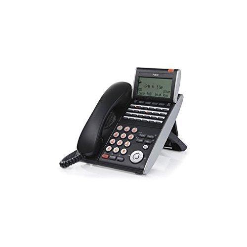 NEC DTL-24D-1 (BK) - DT330 - 24 Button Display Digital Phone Black (Stock# 680004 ) (Renewed) ()