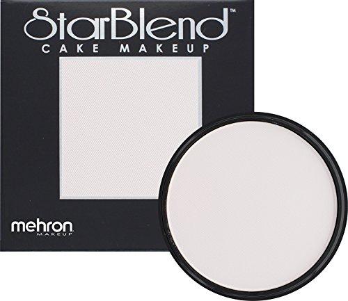Mehron Makeup StarBlend Cake Makeup ALABASTER – 2oz