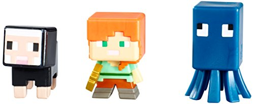 Mattel Minecraft Collectible Figures 3 Pack