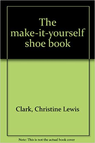 The make it yourself shoe book christine lewis clark 9780394410579 the make it yourself shoe book christine lewis clark 9780394410579 amazon books solutioingenieria Gallery