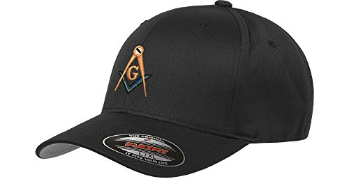 Mason Flex Fit Hat L - XL Masonic Baseball Cap