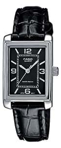 CASIO LTP1234L1AEF - Reloj de mujer - correa de piel - color negro