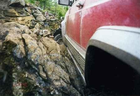 Jeep XJ Cherokee 1998+ Super Sliders Rock Rails (Rock Sliders)