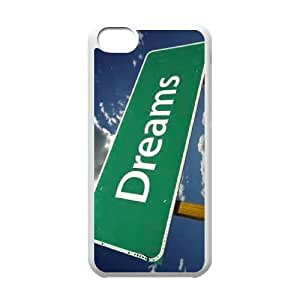 Custom New Cover Case for Iphone 5C, Dream Theory Phone Case - HL-R653736