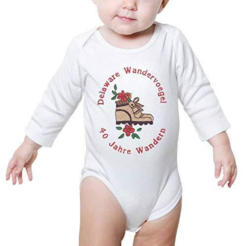 TylerLiu Delaware Saengerbund Unisex Baby Boys Girls Onesie Bodysuit Soft Comfortable