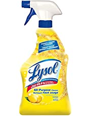 Lysol All Purpose Cleaner, Trigger, Lemon, 650ml, Powerful Cleaning & Freshening