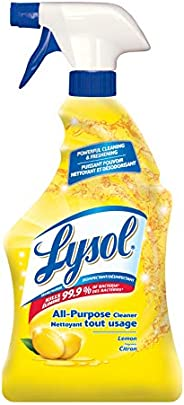 Lysol All Purpose Cleaner, Trigger, Lemon, 650ml, Powerful Cleaning & Freshe