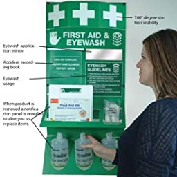 Osha First Aid Kit With Case - 25 Person