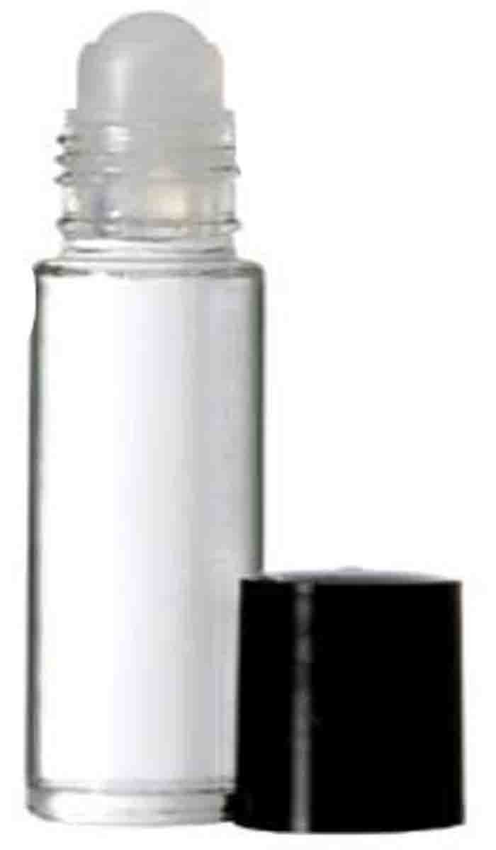 288 Pack: 10ML Clear Glass Premium Roll On Bottles Matching Cap Plastic Insert Empty Containers Essential Oil Aromatherapy Perfume Cologne Wholesale and Other Quantities Available
