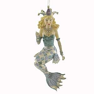 December Diamonds Beignet Mermaid Ornament