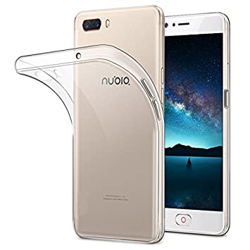 PREVOA Nubia M2 Lite Funda - Transparent Silicona TPU Funda Case Protective para Nubia M2 Lite Smartphone -