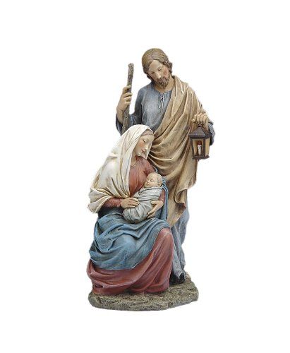 15.5'' Holy Family Figure Statue by Romans