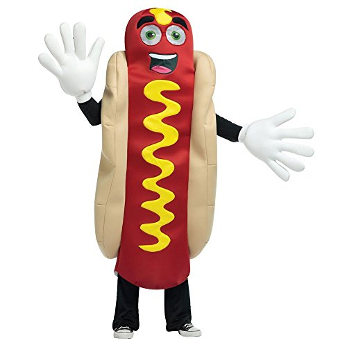 Rasta Imposta Hot Dog Mascot Costume