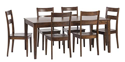 William Sheppee Sonoma 7 Piece Dining Table Set, English Chestnut