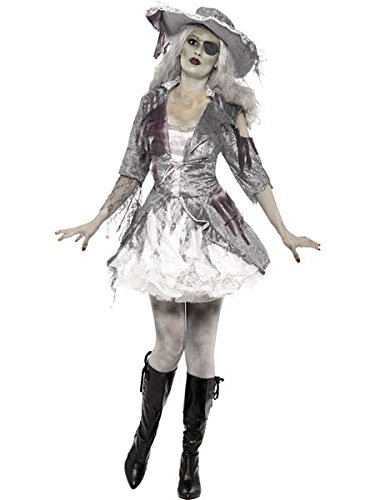 Smiffy's Women's Ghost Ship Pirate Treasure Costume