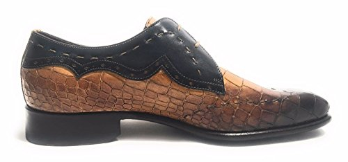 Harris - Zapatos de cordones de Piel para hombre negro negro negro Size: 40 8Jm7BMZ