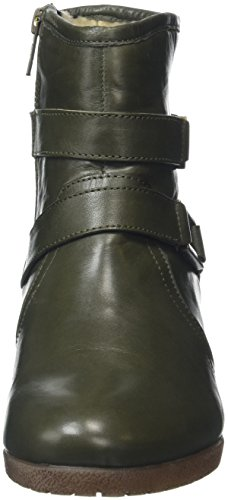 Loradi Green Grn Leather Donna Verde Stivaletti Lotus Td4wqSS