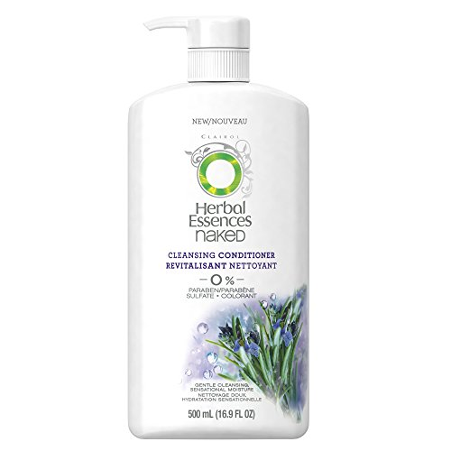 Herbal Daily Cleansing Shampoo - Herbal Essences Naked Cleansing Conditioner 16.9 Fl Oz,