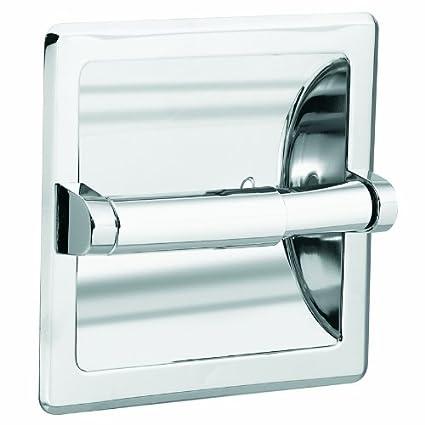 Moen DN5075 Donner Commercial Paper Holder, Chrome - Toilet Paper ...