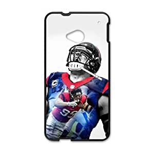 Houston Texans HTC One M7 Cell Phone Case Black persent zhm004_8436726