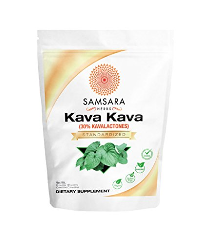 Kava Kava Extract Powder - 30% Kavalactones (8oz/227g) Kava Root Extract by Samsara Herbs