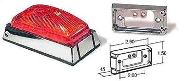 Truck-lite 81226 15-series Rectangular Adapter Mount Lamp Kit, Red