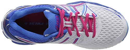 white Asics Femmes 120 Gel Blanc Chaussures Multisport 6 Outdoor Blue hot powder pulse Pink YwHFr8ZY