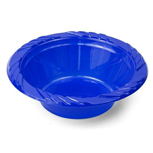 blue red ice cream bowls - 1