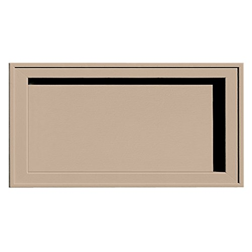 Builders Edge 130120002023 Recessed Jumbo Mounting Block 023, Wicker by Builders Edge