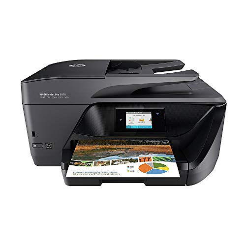HP OfficeJet Pro 6978 All-in-One Wireless Printer, HP Instant Ink & Amazon Dash Replenishment ready (T0F29A) (Hp Envy All In One Wireless Printer)