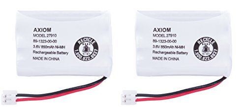 Axiom 2Pack Rechargeable Battery For Empire CPH-464D, SD-...