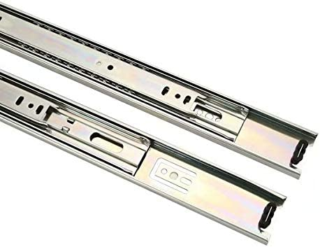 Stainless Steel Full Extension Drawer Rail Partial Extension Without Pull-Out Rail 550mm