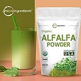 Sustainably US Grown, Organic Alfalfa Powder, 1