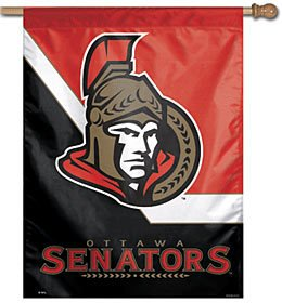 WinCraft NHL Ottawa Senators Vertical Flag, 27