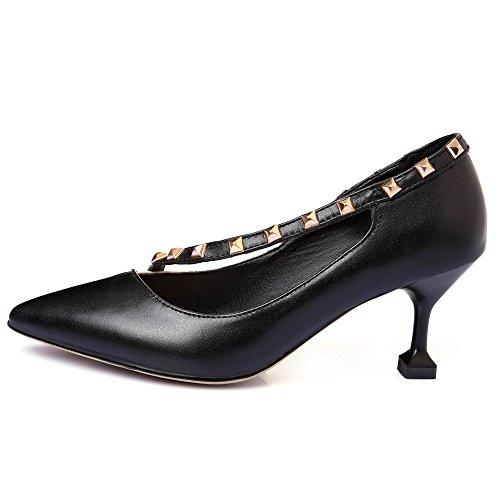 Nine SevenPumps Shoes - Sandalias con cuña mujer negro