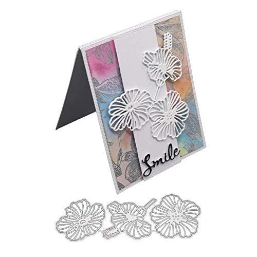 (Cutting Dies, Metal Cutting Dies Forrest Embossing Stencil Template Stamp for DIY Scrapbooking Album Paper Card Craft)