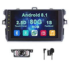 System InformationAndroid 8.1 system 64Bit Quad Core;2G RAM 80G ROMAnalog radioBrand radio IC: NXP TEF6686, AM/ FM tuner built in (worldwide), RDS RadioBluetooth Built-In/ External Microphone (Free) for hands-free callingGPS (map card ...