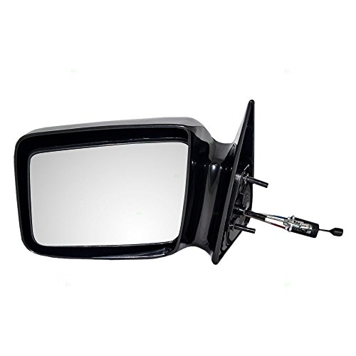 Drivers Manual Remote Side View Mirror Gloss Replacement for Dodge Pickup Truck 55025869 - Mirror Dodge 1987 Dakota