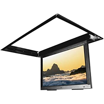 flp 410 in ceiling flip down motorized tv mount for 60 75 inch tv 39 s home audio. Black Bedroom Furniture Sets. Home Design Ideas