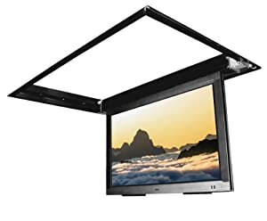 flp 410 in ceiling flip down motorized tv. Black Bedroom Furniture Sets. Home Design Ideas