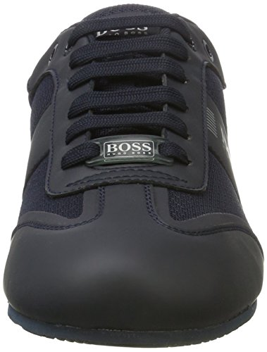 Blue Sneakers Green mxme BOSS 01 Lowp Noir Homme Dark Bleu Basses Lighter 10199225 W6711qdOwY