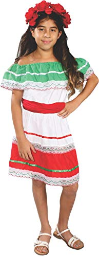 Mexico Costumes For Girls - Mexican Fiesta