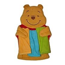Disney- Winnie The Pooh Baby Washmitt Puppet & 3 Washcloth Set