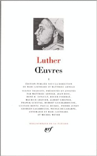 Téléchargement Luther : Oeuvres, tome 1 epub pdf