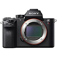 Sony a7R II Full-Frame Mirrorless Interchangeable Lens Camera, Body Only (Black) (ILCE7RM2/B) (Certified Refurbished)