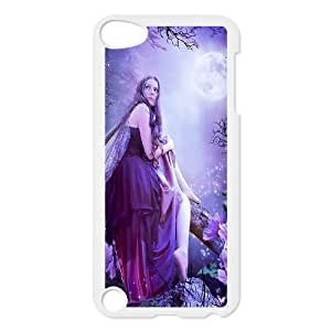 Diy Beautiful Fairy Phone Case for ipod touch 5 White Shell Phone JFLIFE(TM) [Pattern-4] Kimberly Kurzendoerfer