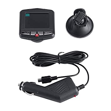 Universal 2.4 Pulgadas Full HD Lente 1080P Auto Car Videoc/ámara DVR Veh/ículo C/ámara Grabadora de Video Dash CAM G-Sensor