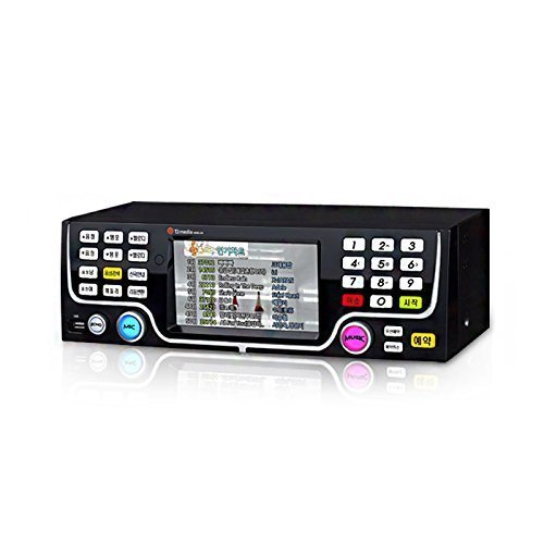 TJ Taijin Media Ziller S60L Commercial Korean Karaoke Singing Machine System 1TB HDD - Korean Edition, for NTSC TV