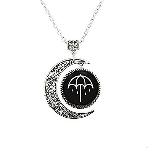 That's The Spirit Bring Me The Horizon Album Pendant Moon Necklace]()